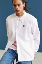 Urban Outfitters Champion Coach Jacket,white,m
