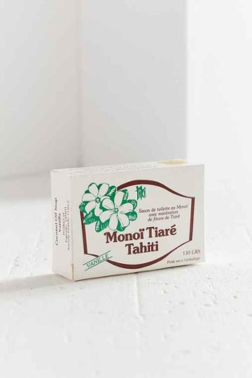 Urban Outfitters Monoi Tiare Tahiti Bar Soap,vanilla,one Size
