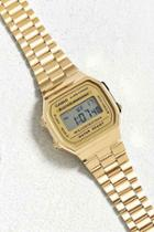 Urban Outfitters Casio Vintage Digital Watch,gold,one Size
