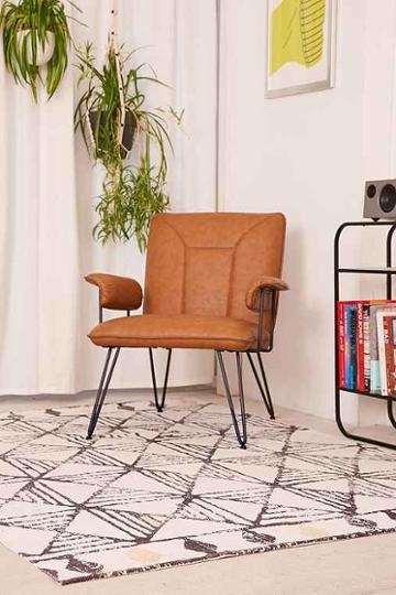 Urban Outfitters Taji Geo Printed Rug,cream Multi,5x7