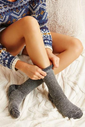 Urban Outfitters Cozy Lined Boot Sock