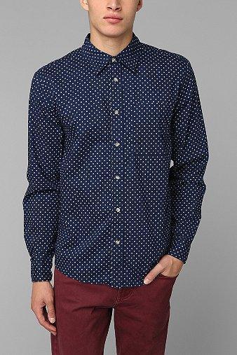 Neuw Polka Dot Button-down Shirt