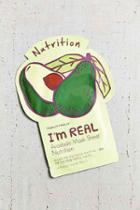 Urban Outfitters Tonymoly I'm Real Mask Sheet,avocado,one Size