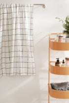 Urban Outfitters Wonky Grid Bath Towel