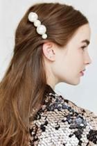 Urban Outfitters Mixed Pearl Hair Comb,pearl,one Size