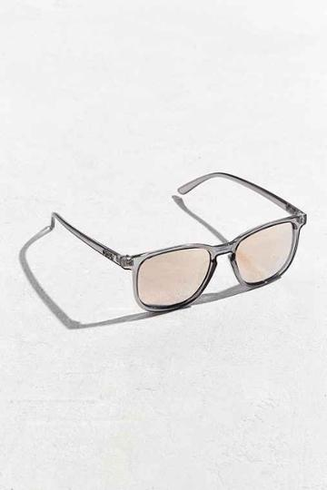 Urban Outfitters Quay The Oxford Sunglasses,clear,one Size