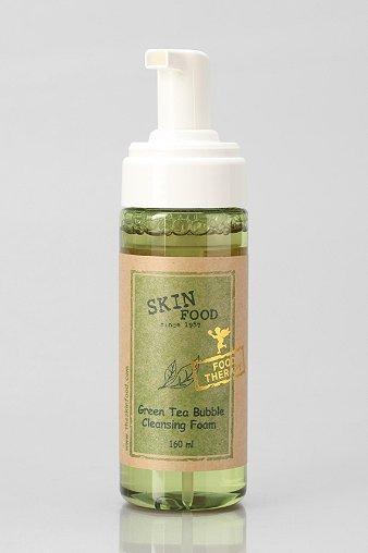 Skinfood Green Tea Bubble Cleansing Foam