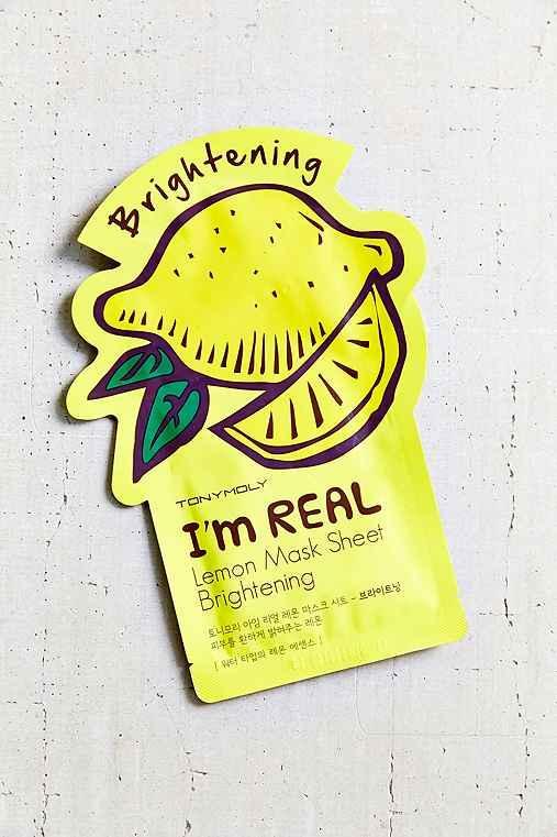 Urban Outfitters Tonymoly I'm Real Mask Sheet,lemon,one Size