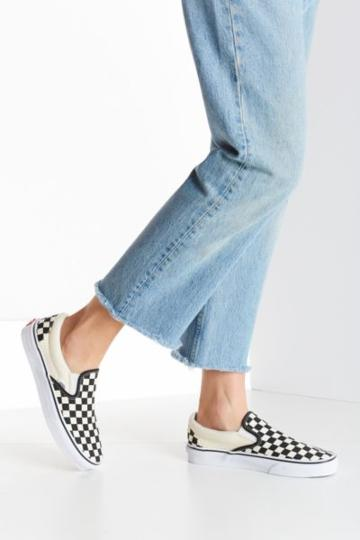 Urban Outfitters Vans Checkered Slip-on Sneaker