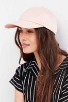 Urban Outfitters Satin Baseball Hat,pink,one Size