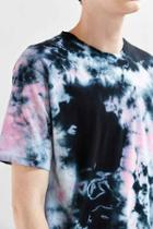 Urban Outfitters Uo Crystal Wash Tee,black Multi,m