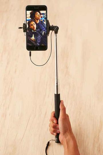 Urban Outfitters Selfie Click Stick,black,one Size