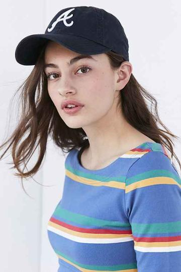 Urban Outfitters American Needle Ballpark Variant Baseball Hat,blue Multi,one Size