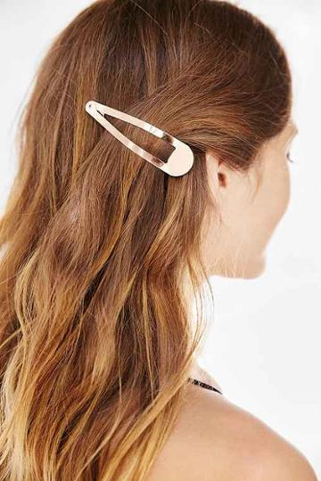 Urban Outfitters Oversized Flip Hair Clip,blush,one Size