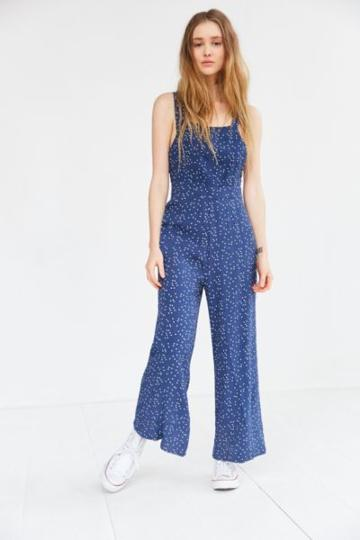 Rolla's Rolla's Starry Night Polka Dot Culotte Jumpsuit
