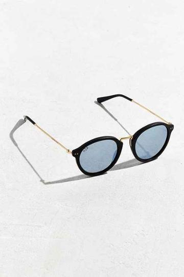 Urban Outfitters Kapten & Son Maui Matte Sunglasses,black,one Size