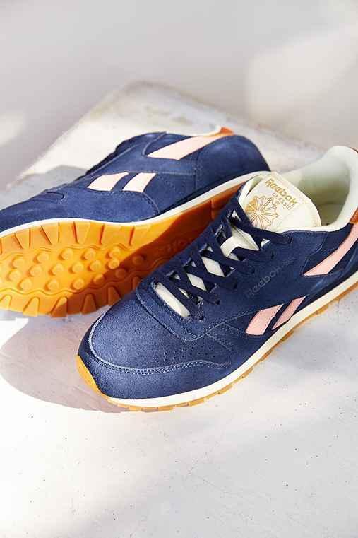 Reebok Classic Leather + Suede Sneaker