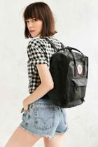 Urban Outfitters Fjallraven Kanken Backpack,black,one Size