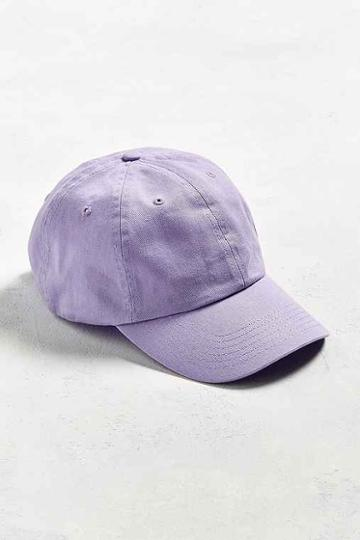 Urban Outfitters Uo Curved Brim Baseball Hat,lavender,one Size