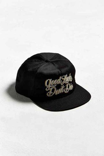 Urban Outfitters Loser Machine Don't Die Hat,black,one Size