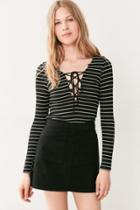 Urban Outfitters Bdg Twill Utility Mini Skirt