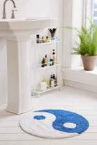 Urban Outfitters Yin Yang Bath Mat,blue,30