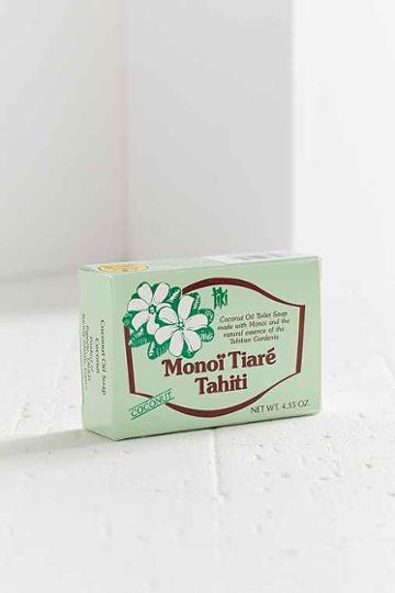 Urban Outfitters Monoi Tiare Tahiti Bar Soap,coconut,one Size