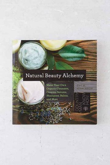 Urban Outfitters Natural Beauty Alchemy: Make Your Own Organic Cleansers, Creams, Serums, Shampoos, Balms, And More By Fifi M. Maacaron,assorted,one Size