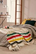 Urban Outfitters Pendleton Glacier Park Throw Blanket,cream,one Size