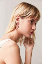 Urban Outfitters Edie Hoop Earring,red,one Size