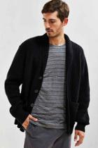Urban Outfitters Uo Shawl Cardigan,black,l
