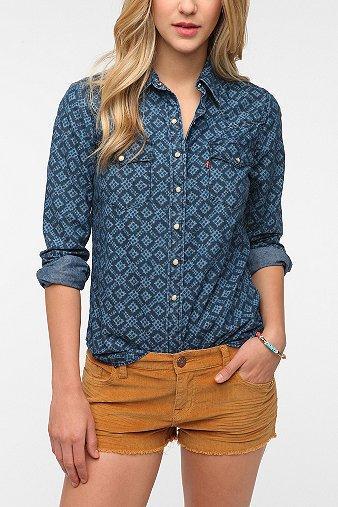 Levi's Annie Ikat Western Shirt