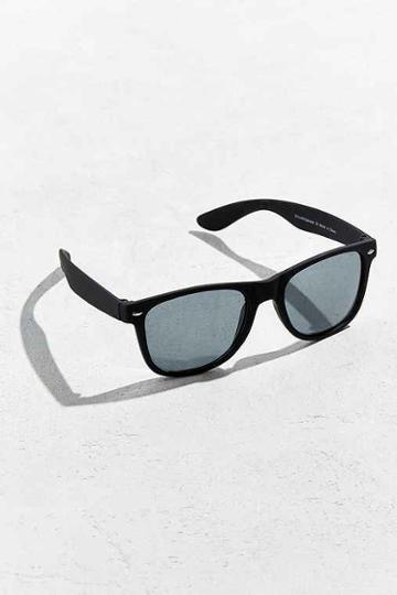 Urban Outfitters Squared Matte Sunglasses,black,one Size