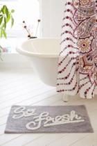 Urban Outfitters Allover So Fresh Bath Mat