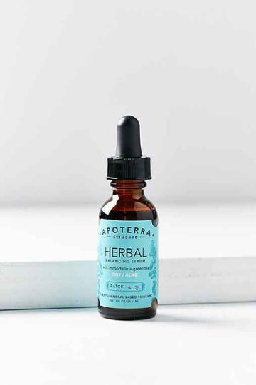 Urban Outfitters Apoterra Skincare Herbal Balancing Serum,assorted,one Size