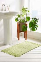 Urban Outfitters Chunky Hansa Bath Mat,lime,one Size