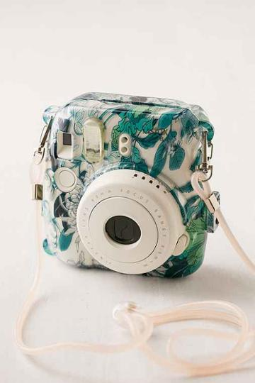 Urban Outfitters Fujifilm Instax Mini 8 Floral Hard-shell Camera Case,clear,one Size