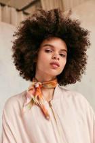 Urban Outfitters Tie-dye Bandana,cream Multi,one Size