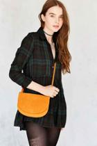 Urban Outfitters Natalie Double Pouch Crossbody Bag,orange,one Size