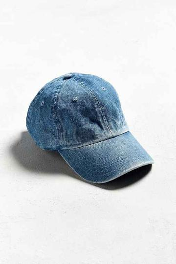 Urban Outfitters Uo Curved Brim Baseball Hat,indigo,one Size