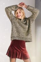 Silence + Noise Tinsel Sweater