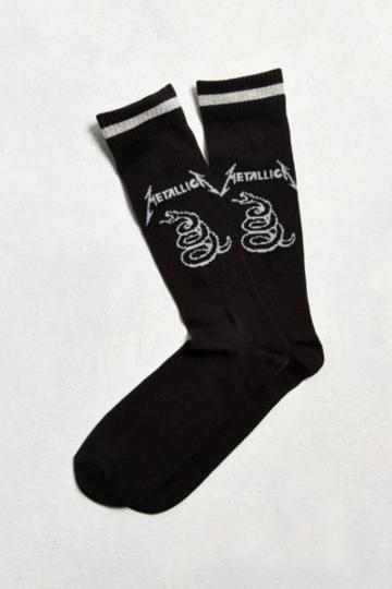Urban Outfitters Metallica Sport Sock