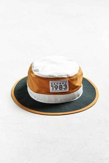 Urban Outfitters Kangol 1983 Hero Bucket Hat,green Multi,l