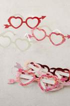 Urban Outfitters Heart Glasses Set,multi,one Size