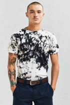 Urban Outfitters Uo Two Tone Crystal Wash Tee,rose,m