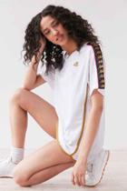 Urban Outfitters Kappa Ewood Jersey Tee,white,m