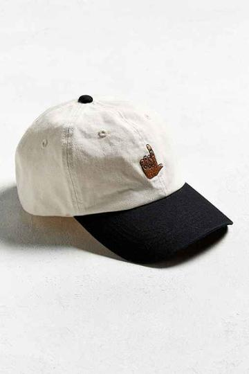 Urban Outfitters Uo Loser Baseball Hat,black & White,one Size