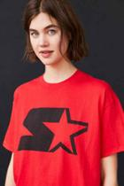 Urban Outfitters Starter Logo Tee,red,m