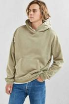 Urban Outfitters Uo Malone Hoodie Sweatshirt,olive,l