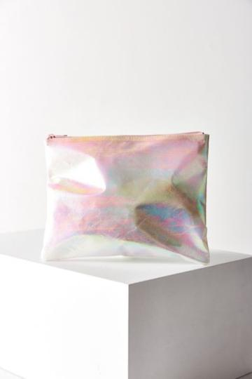Urban Outfitters Iridescent Pouch